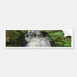 Woodland Waterfall Bumper Stickers