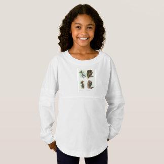 Woodpeckers Girls' Spirit Jersey Shirt