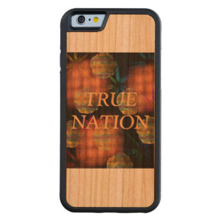 Woodpick Carved Cherry iPhone 6 Bumper Case
