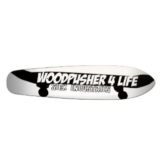 Woodpusher 4 life 21.6 cm skateboard deck