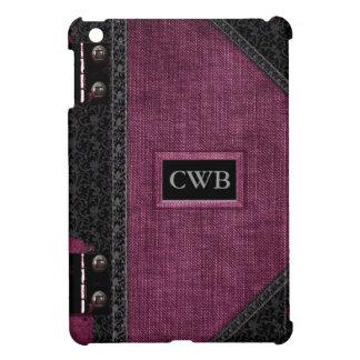 Wopsle Kline Vintage Old Book Style iPad Mini Covers