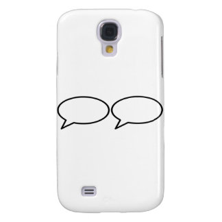 Word Bubble 2 Left Trans The MUSEUM Zazzle Gifts Samsung Galaxy S4 Case