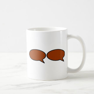 Word Bubble 2 Right Brown The MUSEUM Zazzle Gifts Mugs