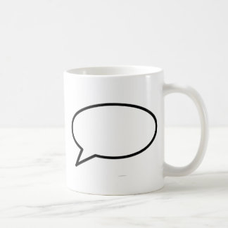 Word Bubble Left Trans The MUSEUM Zazzle Gifts Coffee Mug