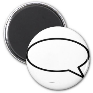 Word Bubble Right Trans The MUSEUM Zazzle Gifts Refrigerator Magnet
