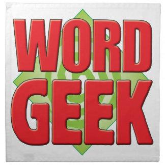 Word Geek v2 Printed Napkins