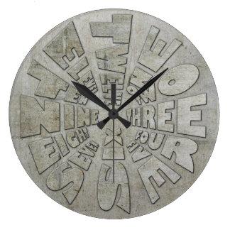 Word Time Clock Industrial