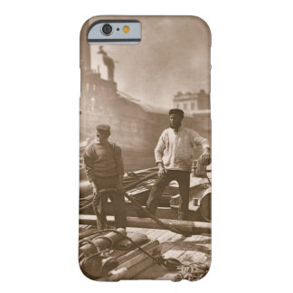 Workers on the 'Silent Highway', from 'Street Life Barely There iPhone 6 Case