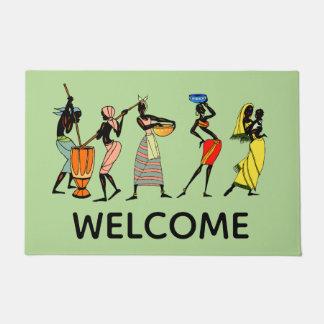 Working African Women Doormat