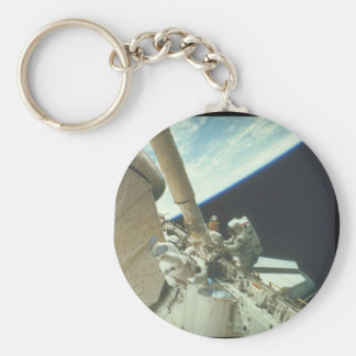 Working on the shuttle in space_Space Key Ring