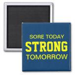Workout Motivation Fridge Magnets