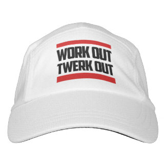 """Workout Twerk Out"" Knit Performance HAT"