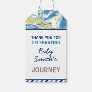World Awaits Baby Shower Favour Tag