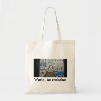 World, be christian bag-Tunisia/Bahrain/bangladesh