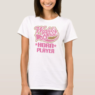 World Best French Horn Player Gift T-Shirt