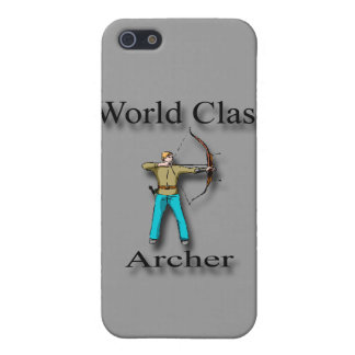 World Class Archer black Case For iPhone 5/5S