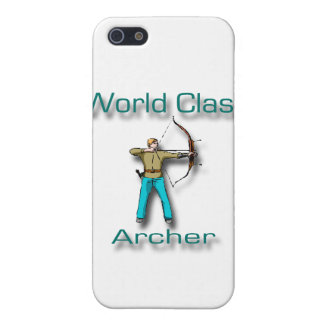 World Class Archer blue iPhone 5 Cover