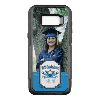 World Class Graduate Class of 2017 Graduation OtterBox Commuter Samsung Galaxy S8+ Case