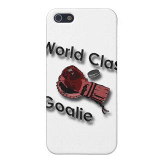 World Class Hockey Goalie Glove black iPhone 5 Cases