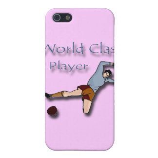 World Class Player blue Case For The iPhone 5