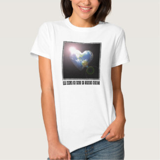 World Full Of Tender Hearts for Aunt Tee Shirts