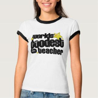 world' goodest teacher (distressed) T-Shirt