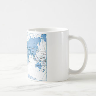 World is Art Blue - Children Coffee Mug
