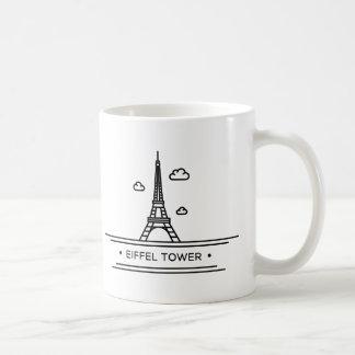 World Landmark: Eiffel Tower Coffee Mug