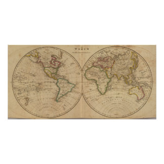 World Map 3 Posters