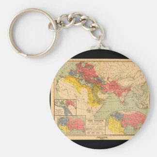 World Map from Antiquity 1_Maps of Antiquity Key Ring