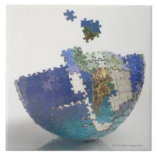 World Map, South America Tile