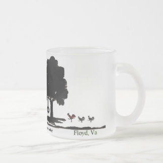 world of whimsey Mellowspring farms frosted glass Frosted Glass Mug