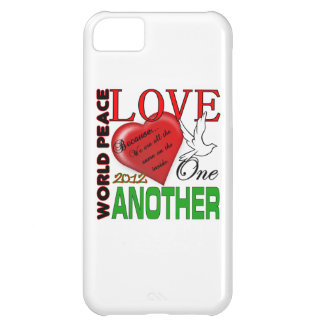 World Peace Love one Another Original Design iPhone 5C Case