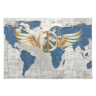 World peace placemat