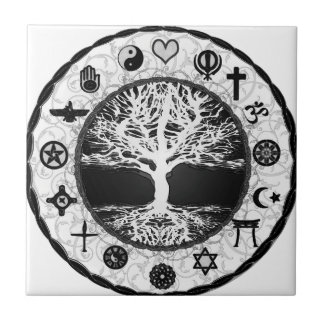 World Religions Tree of Life Tile