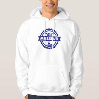 World's best masseur hoodie