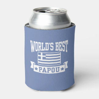 World's Best Papou Can Cooler