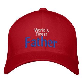 World s Finest Father Baseball Cap