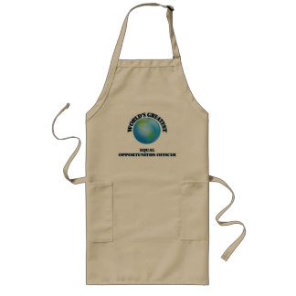 World s Greatest Equal Opportunities Officer Apron