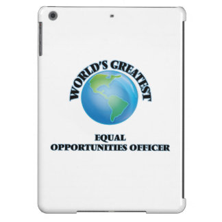 World s Greatest Equal Opportunities Officer iPad Air Case