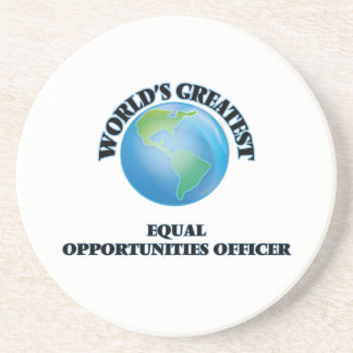World s Greatest Equal Opportunities Officer Coasters