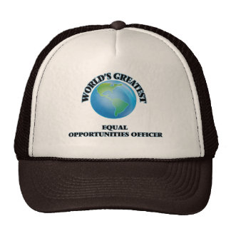 World s Greatest Equal Opportunities Officer Trucker Hats