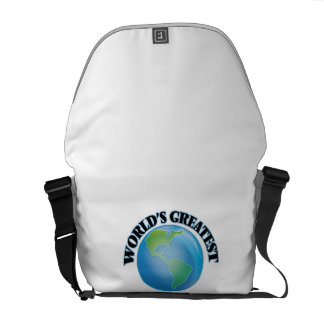 World s Greatest Equal Opportunities Officer Messenger Bags