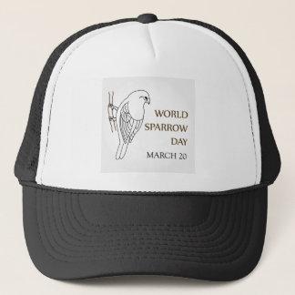World Sparrow Day- March 20 Trucker Hat