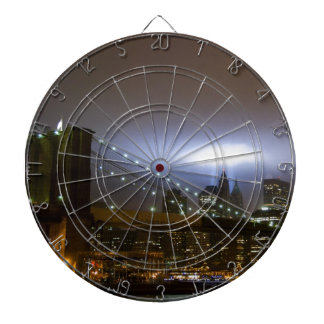 World Trade Center Tribute in Light Dartboard