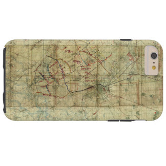 World War I Battle of the Canal du Nord Battle Map Tough iPhone 6 Plus Case