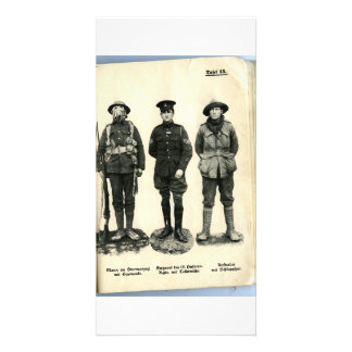World War I Uniforms Picture Card