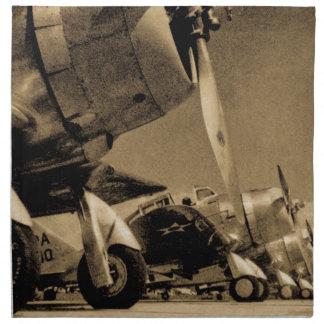 World War II Douglas SBD Dauntless Bomber Planes Napkin