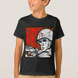 World War II Veteran Russian T-Shirt
