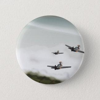 World War Two Aeroplanes 6 Cm Round Badge